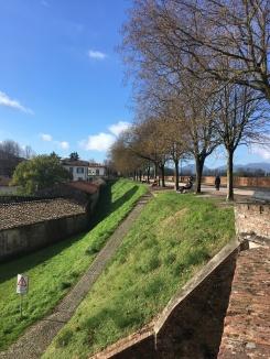 De muur van Lucca